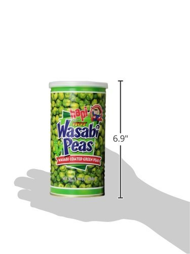 Hapi Snacks Wasabi Peas, Hot, 9.9 Oz (Pack Of 8) by HAPI (Image #3)