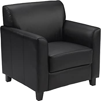 Flash Furniture HERCULES Diplomat Series Black Leather Chair