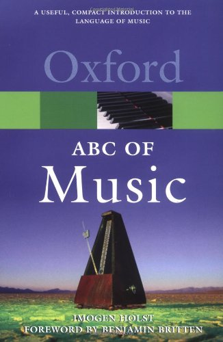 An ABC of Music (Oxford Quick Reference)
