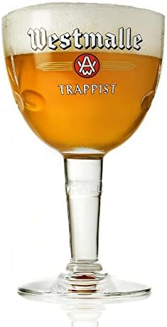 Westmalle Trappist Belgian Beer Glass 33cl NEW