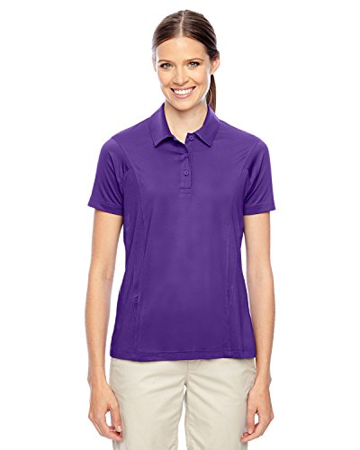Team 365 Ladies Charger Performance Polo Shirt, Sport Purple, XXX-Large