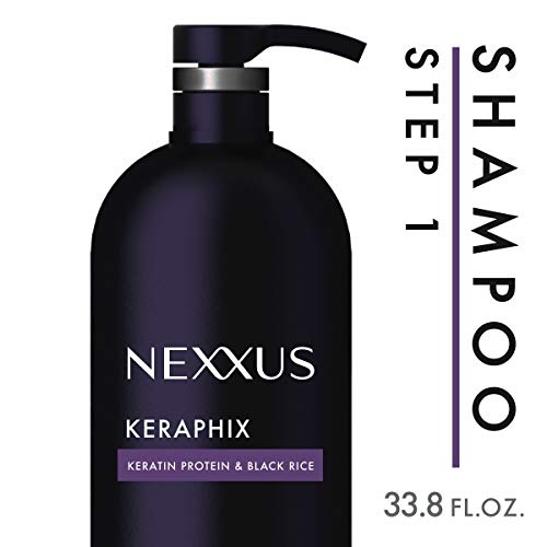 Smoothing System 1 Shampoo - Nexxus Keraphix Shampoo, for Damaged Hair, 33.8 oz