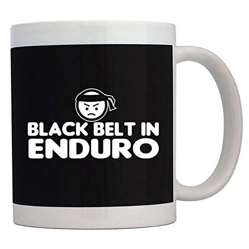 Teeburon BLACK BELT IN Enduro Mug 11 ounces ceramic ()