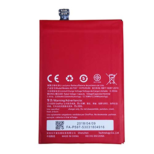 Swark BLP597 Replacement Battery Compatible with OnePlus 2 Two 2nd Phone A2001 A2003 A2005 + Tools