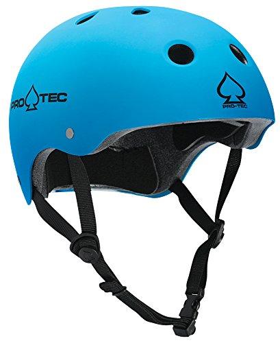 Pro-tec Classic Matte Skateboard Helmet, Blue, X-Large (X-large Helmet Blue Matte)