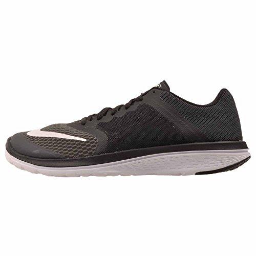 71e11148b16e2 Galleon - Nike Women s Fs Lite Run 3 Anthracite White Black Ankle-High Mesh  Cross Trainer Shoe - 8M