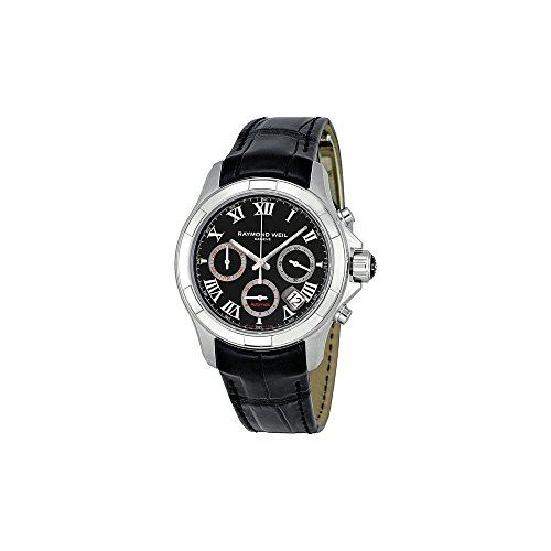 raymond-weil-mens-7260-stc-00208-parsifal-stainless-steel-watch-with-black-leather-band