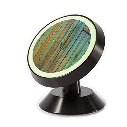 Magnetic Dashboard Cell Phone Car Mount Holder,Dated Tuscany House Entrance with Antique Texture,can be Adjusted 360 Degrees to Rotate,Phone Holder Compatible All Smartphones
