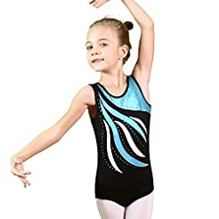 BAOHULU Girls Gymnastics Leotards One-Pi...