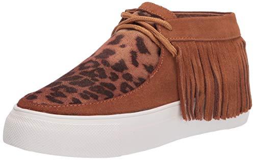Rogene Sneaker, Tan/Leopard