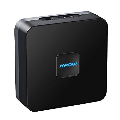 Mpow Bluetooth 4.1 Empfänger für Heim HiFi Auto Lautsprechersystem Musikstreaming-Soundsystem Bluetooth Adapter für Lautsprecher