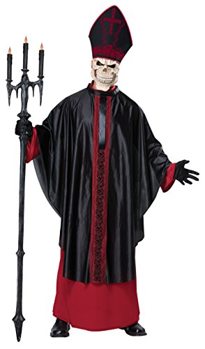 [California Costumes Men's Mass, Red/Black, Small/Medium] (Priest Halloween Costumes)