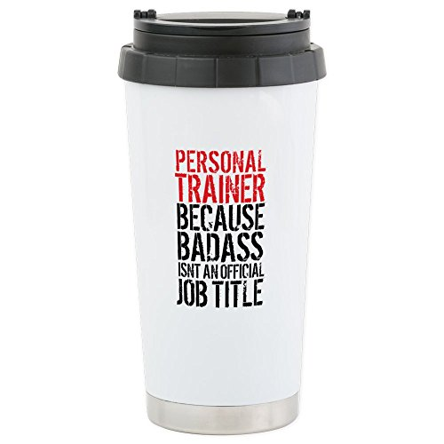 CafePress Personal Trainer Stainless Insulated