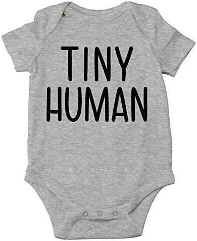Tiny Human Baby Bodysuit