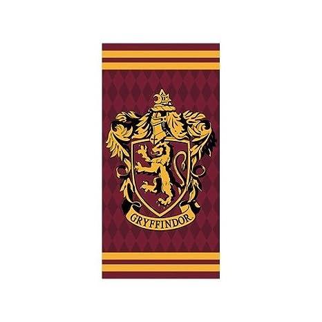Setino Harry Potter 821-421, Toala modelo Gryffindor de algodon, 70x140 cm: Amazon.es: Hogar