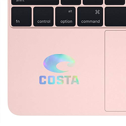 (ANGDEST Costa (Navy Blue) (Set of 2) Premium Waterproof Vinyl Decal Stickers for Laptop Phone Accessory Helmet Car Window Bumper Mug Tuber Cup Door Wall Decoration )