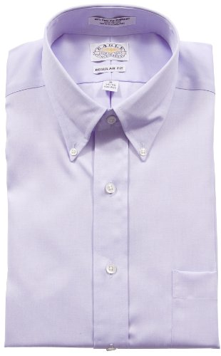 UPC 712848275228, Eagle Men's 100% Cotton Pinpoint Button Down Collar Non Iron Long Sleeve Dress Shirt (18.5 - 36/37, Blue Mist)