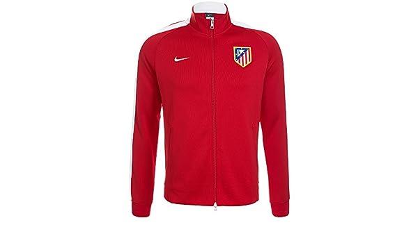 Nike Chaqueta Atlético de Madrid Authentic N98 -Rojo- 2014-15: Amazon.es: Deportes y aire libre