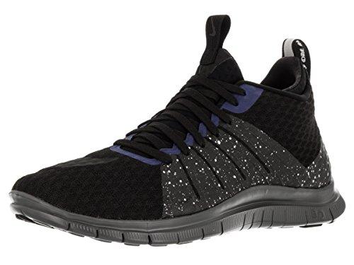 Nike Mens Free Hypervenom 2 FC Black/Black/Rflct Slvr/Dp Ryl Blue Training Shoe (11.5) 747140-005
