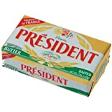 President Salted Butter, 7 Ounce -- 20 per case.