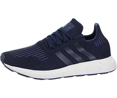 adidas Originals Kids Boy's Swift Run (Big Kid) Navy/Black/Blue 4 M US Big Kid -