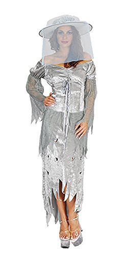 Ladies Adult Ghostless Halloween Fancy Hen Party Dress Womens Novelty Costume#(Ghostless Fancy Dress Costume#One Size#Womens#51364) - Halloween Outfits Uk