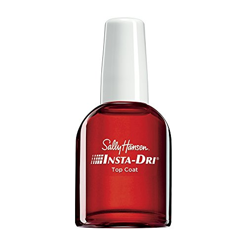 Sally Hansen Insta-Dri Anti-Chip Top Coat, Clear, Fast-Drying Nail Lacquer Topcoat, Dries in 30 Seconds, Contains UV Filter to Protect Color of Manicure or Pedicure