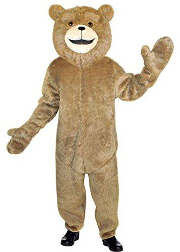 In liquidazione cerca il meglio eccezionale gamma di colori Costume Ted adulto orso Deluxe: Amazon.it: Giochi e giocattoli