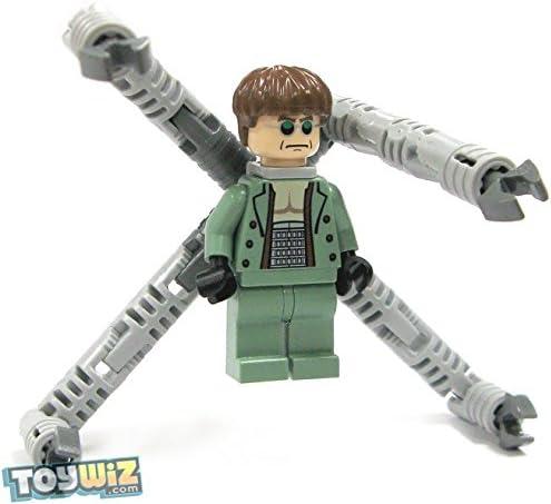 ژاکت ماسه سبز LEGO Spider-Man Minifig Dr. Octopus (Doc Ock)