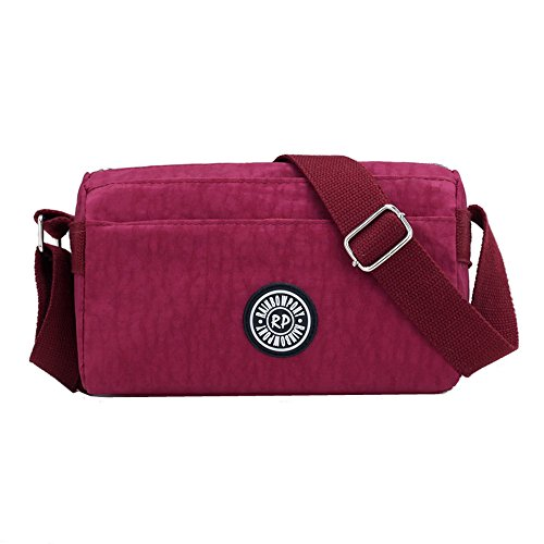 Messenger Water Small Cross Nylon Bag Lightweight body Resistant Wine Shoulder Bags FCSwOq