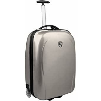 """Heys XCASE 20"""" Lightweight Carry-On - Silver"""
