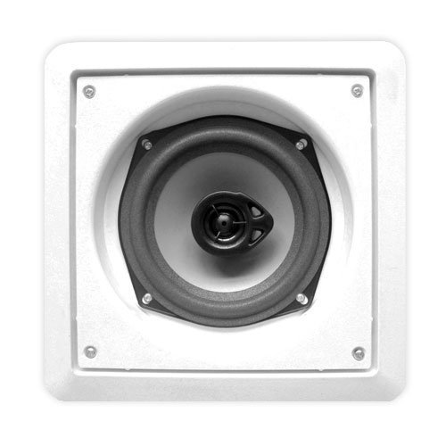 Acoustic Audio CS-I52S 200 Watt In Wall/Ceiling 2-Way Speaker Home Theater, White by Acoustic Audio by Goldwood