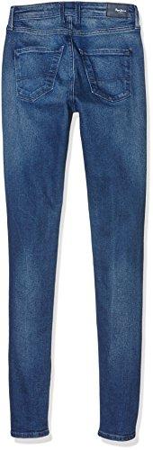 Pepe Regent Jeans Azul Mujer Vaqueros Z372 denim Para qUFBwq7grW