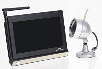 Amazon com : (7 Inch Wide Screen) Large Screen Baby Monitor