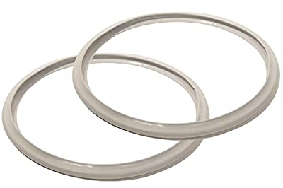 10 Inch Fagor Pressure Cooker Replacement Gasket (Pack of 2) - Fits Many 8 and 10 Quart Fagor Stovetop Models (Check Description for Fit)