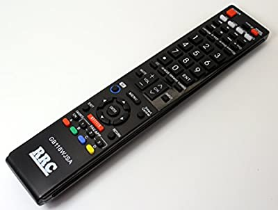RRC Universal Remote Control for Sharp LCD LED Smart TV Replacement