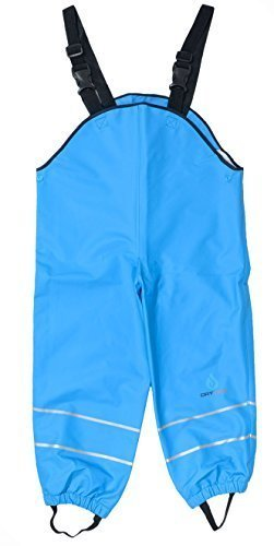 Dry Kids Dungarees Unlined - Turquoise 9/10yrs