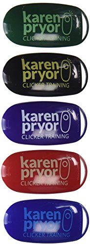 Karen Pryor i-Click Clicker 5 Pack