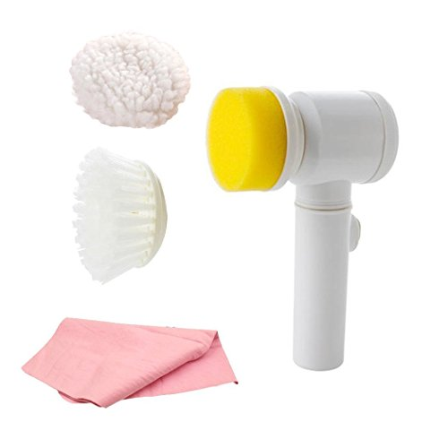 Cozytek Power Scrubber,Electric Cleaning Brush with Handh...
