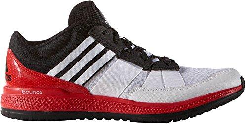 Adidas Originali Mens Zg Rimbalzo Scarpa Cross-trainer Bianco / Nero / Rosso Vivo