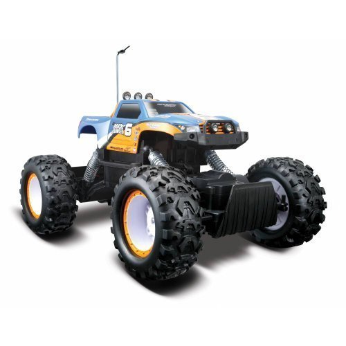 Maisto Tech Black Radio Control Rock Crawler RC Remote Control Race Truck