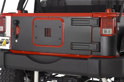 Warrior Tailgate Cover (Warrior Products S920D Tailgate Cover for Jeep JK)