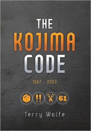 The kojima code terry wolfe 9781773703756 amazon books fandeluxe Images