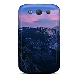 Durable Defender Case For Galaxy S3 Tpu Cover(breath Taking Mountains)