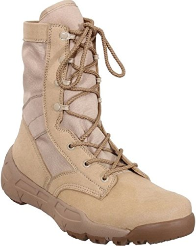 Desert Tan Military Boot Lightweight V-Max Combat Boots