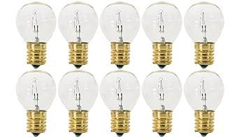 Intermediate Base Hi-Intensity Light Bulbs 40 Watt Clear 40S11//N Pack Of 10 E17