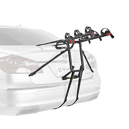 Following Toyota Van - Allen Sports Premier 3-Bike Trunk Rack