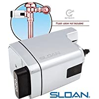 Sloan Valve EBV-500-A Single Flush Side-Mount Retrofit Kit for Water Closets and Urinals by Sloan Valve