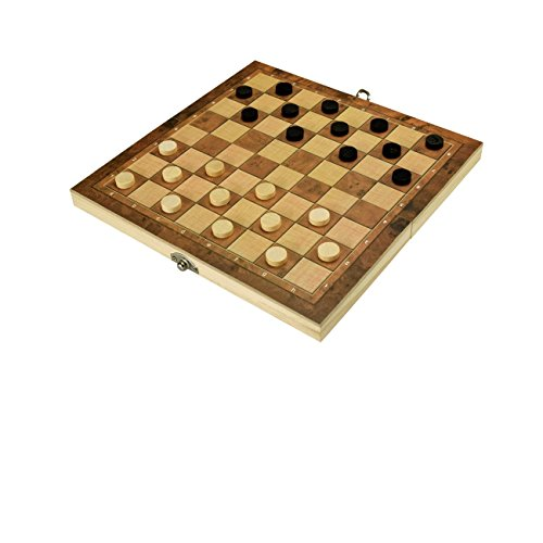 Review Wooden Chess and Checkers