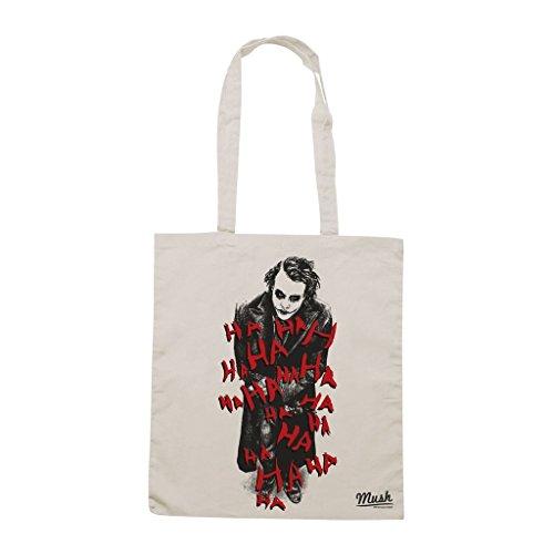 Borsa Joker Lol Scuro - Panna - Film by Mush Dress Your Style